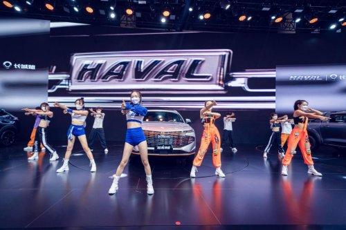 新科技旗舰SUV哈弗神兽,成都车展全球首秀与青年同频共振